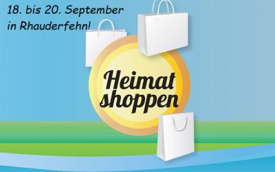 Heimat shoppen – Da kaufen, wo du lebst!